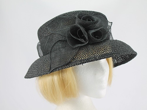 Accessorize Black Formal Hat