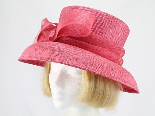 Accessorize Pale Cerise Wedding Hat