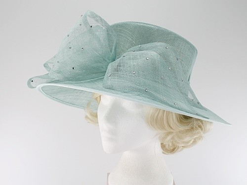 Elegance Collection Diamante Events Hat