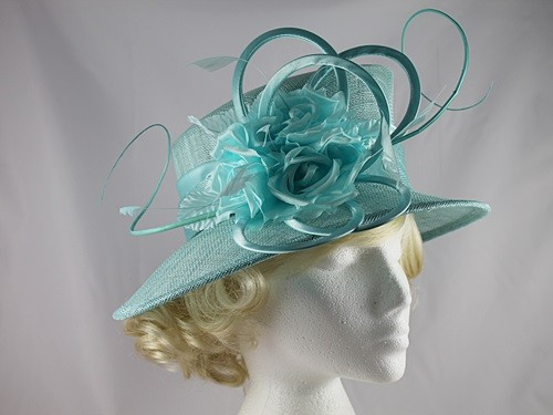 Maddox Flower Wedding Hat
