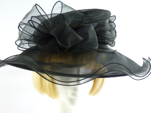 Marks and Spencer Ascot hat Black loops