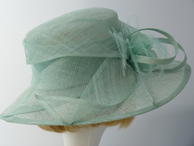 Failsworth Millinery Ascot hat Mint Green cb322ee6fae