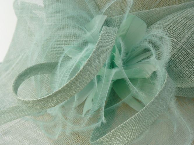 Fascinators 4 Weddings - Failsworth Millinery Ascot hat Mint Green in  Turquoise f956b13bedf