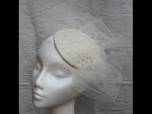 Couture by Beth Hirst Large Lace Beaded Button
