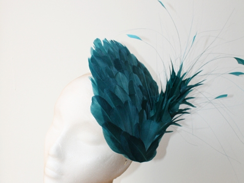 Couture by Beth Hirst Feather Saucer