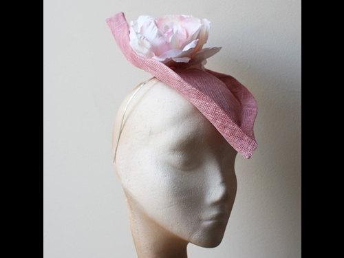 Couture by Beth Hirst Pink Flower Percher