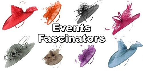 Complete Range of Events Fascinators