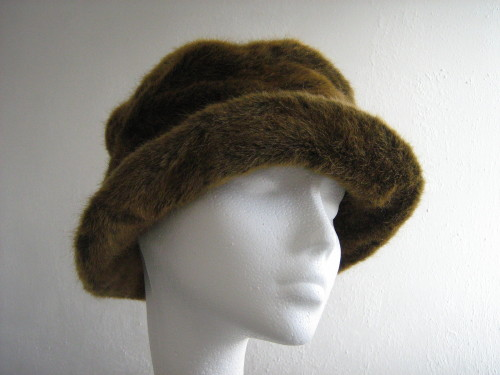 Occasional hat Fur Brown
