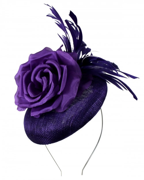 Failsworth Millinery Button Events Headpiece