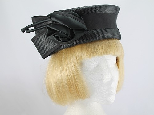 Bermona Black Formal Hat