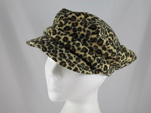 Betmar New York Leopard Print Cap
