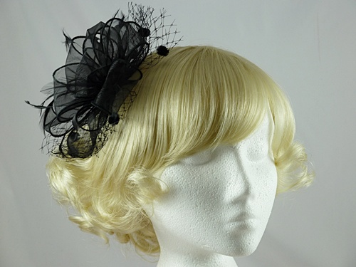 Organza Loops Fascinator