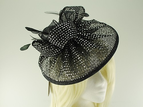 Failsworth Millinery Sequined Disc Headpiece