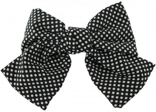 Daisy Daisy Large Polka Dot Bow Hair Clip
