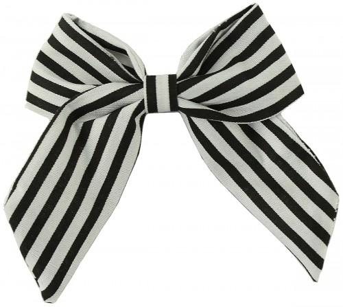 Daisy Daisy Striped Bow Hair Clip