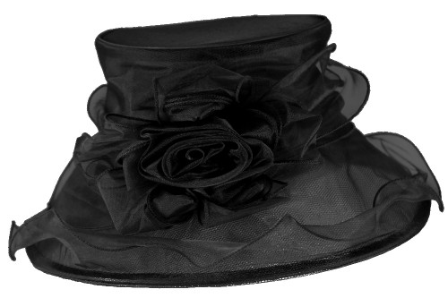 Elegance Collection Organza Occasion Hat