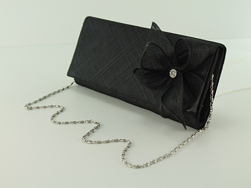 Elegance Collection Sinamay Diamante Occasion Bag