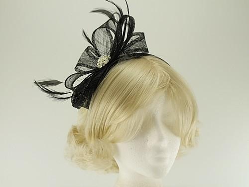 Elegance Collection Sinamay Headpiece Fascinator