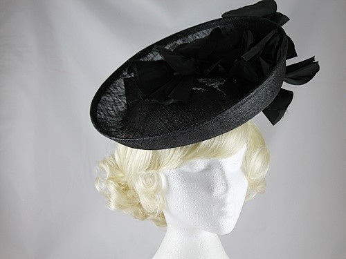 Failsworth Millinery Shaped Disc Headpiece