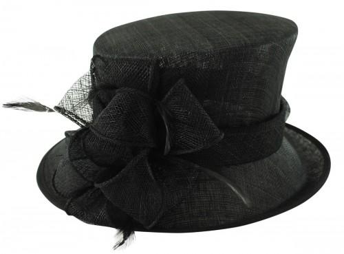 Failsworth Millinery Wedding Hat in Black