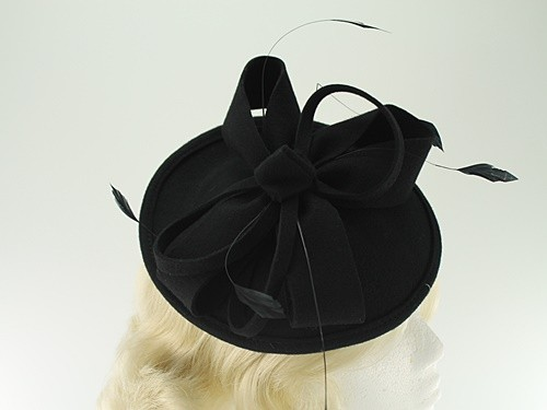 Failsworth Millinery Wool Felt Disc Headpiece