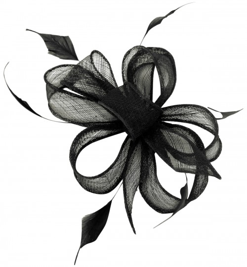 Fascinators 4 Weddings  Black Comb Fascinators b89a4b42068