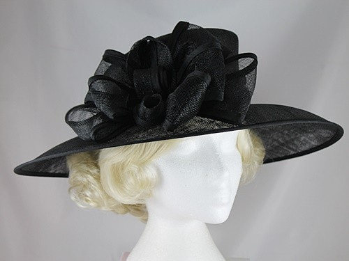 Hawkins Collection Wide Loops Occasion Hat