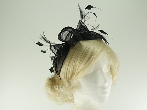 Max and Ellie Diamante Fascinator