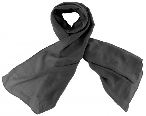 Max and Ellie Fine Woven Scarf in Black