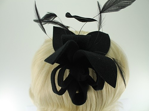 Max and Ellie Lily Felt Fascinator