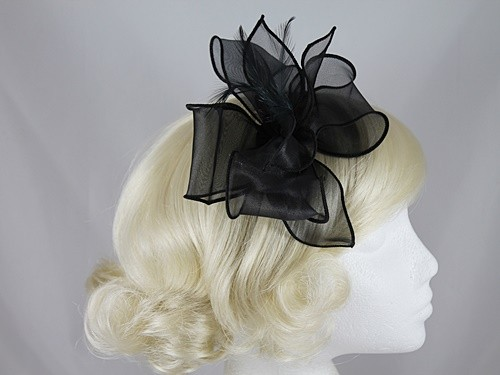 Molly and Rose Organza Fascinator
