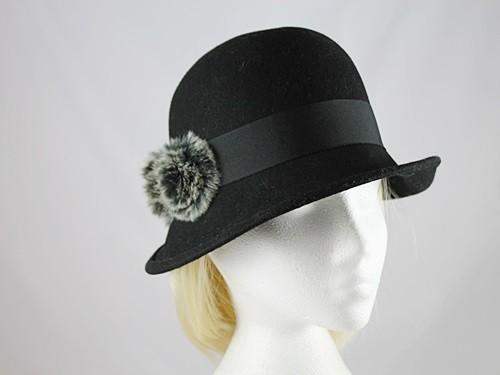 Victoria Ann Pom Pom Winter Hat
