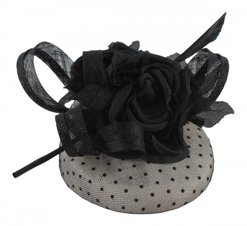 Failsworth Millinery Silk Flower Pillbox