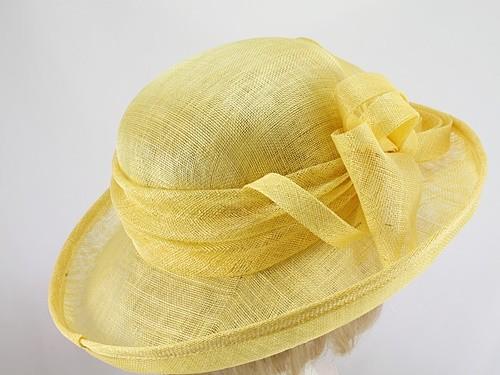 Blackberry Hats Lemon Formal Hat