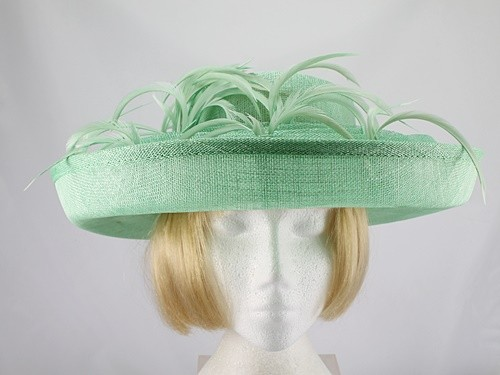 Blackberry Hats Mid Green Formal Hat