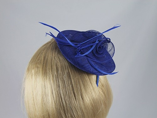 Blue Fascinator