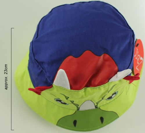 Jiglz Triceratops Cotton Sun Hat
