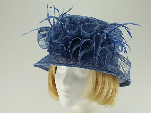 Blue Wedding Hat