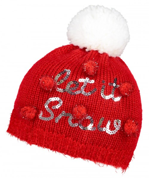 Boardman Let it Snow Beanie Hat