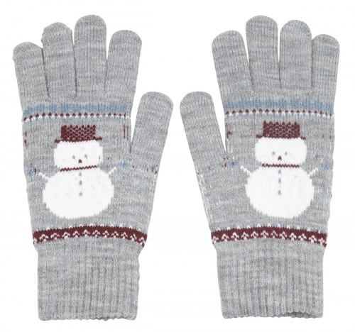 Boardman Snow Gloves in Brown