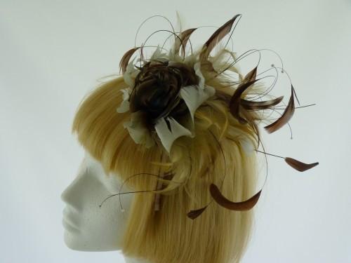 Designer Millinery by Rachel Wykes Wedding fascinator