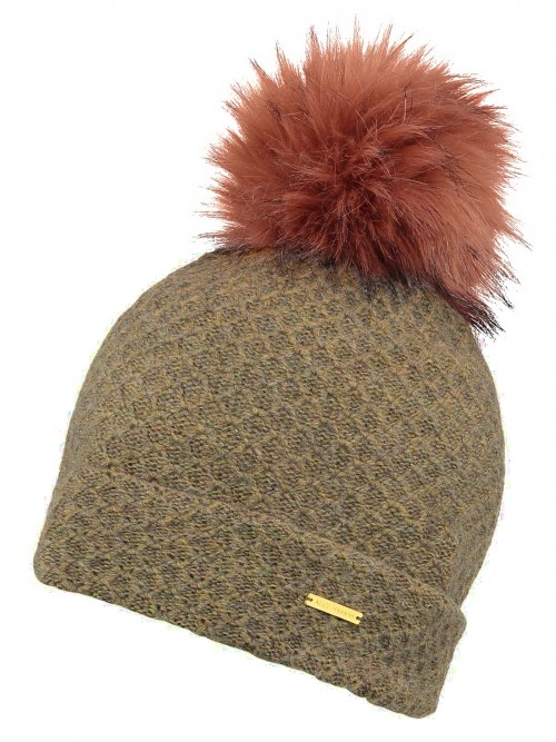 Alice Hannah Knitted Bobble Ski Hat