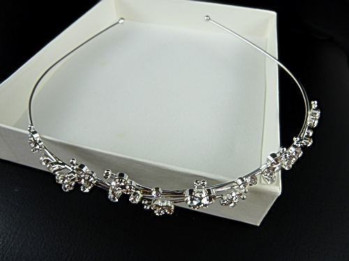 Crystal Butterfly Tiara