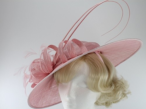 Failsworth Millinery Ascot Disc Headpiece