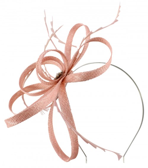 Failsworth Millinery Sinamay Loops Fascinator in Candy