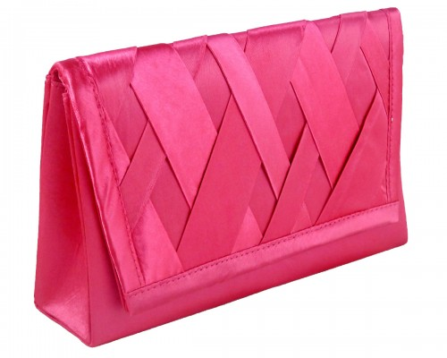 Failsworth Millinery Occasion Bag in Cerise