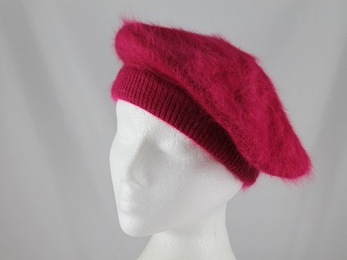 Gwyther Snoxells Angora Beret
