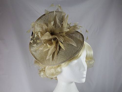 Failsworth Millinery Pinched Disc