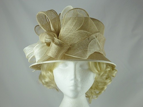 Wedding Hats 4U - Failsworth Millinery Wedding Hat in Champagne ... 76410f72f94