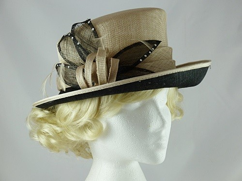 Wedding Hats 4U - Hawkins Collection Petals Wedding Hat in Champagne ... 0f698f6c91ca